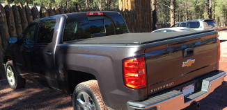 Extang Revolution Tonneau Cover Installed on a 2015 Chevrolet Silverado