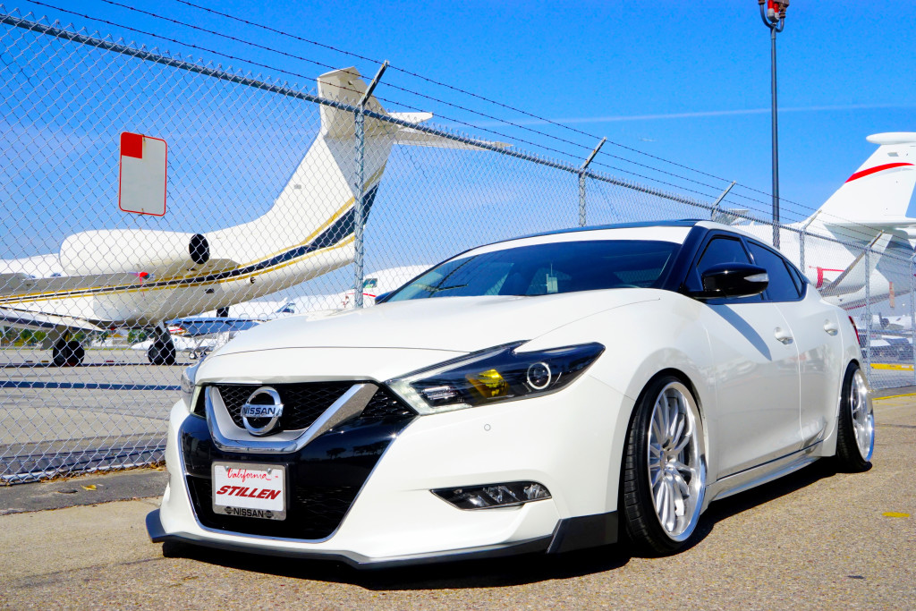 2016 Nissan Maxima with Stillen power, performance and body styling parts
