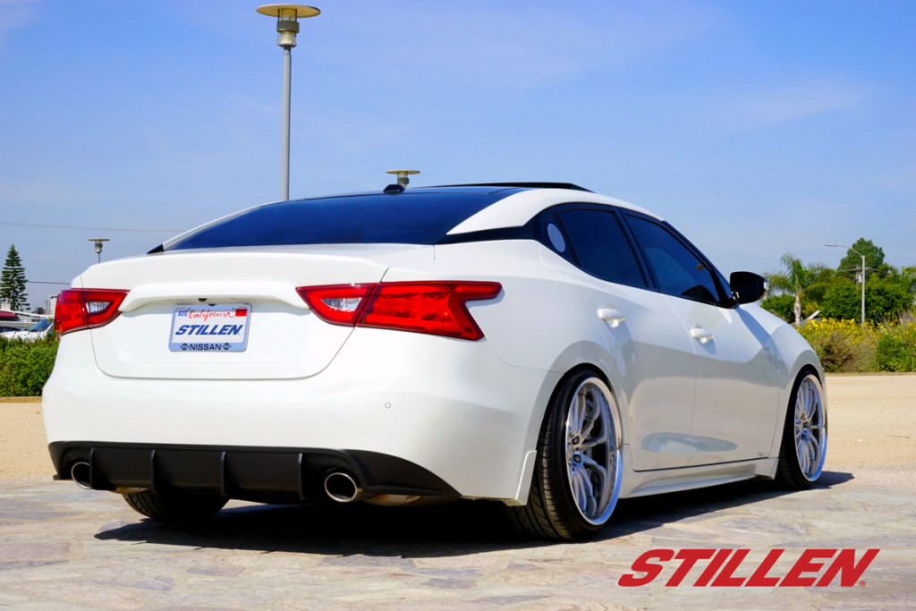 Stillen 2016 Nissan Maxima Rear Diffuser: 2016 Nissan Maxima Exhaust System At Woreks.co