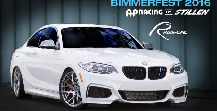 AP Racing Big Brake Kit on 2016 BMW M235i
