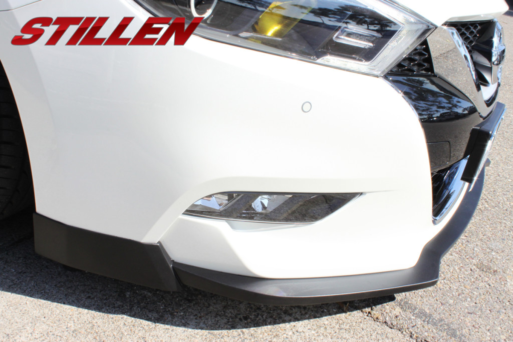 Stillen 2016 Nissan Maxima front splitter