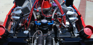 1986 Indy Lights V-6 engine