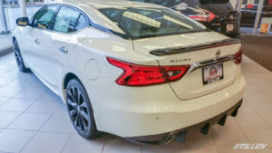 White Plains Nissan 2016 Nissan Maxima with STILLEN rear diffuser