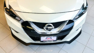 White Plains Nissan 2016 Nissan Maxima with STILLEN front splitter