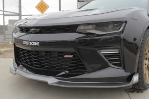 Street Scene 2016 Chevy Camaro SS body kit - front splitter