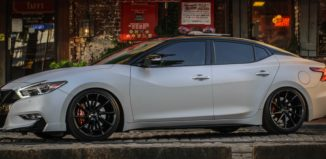 2016 nissan maxima with stillen body styling kit