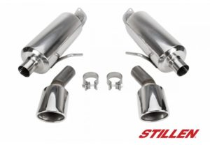 2016 Infiniti Q50 2.0t STILLEN axle-back exhaust system