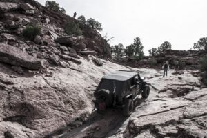 Eibach PRO-TRUCK shocks tested out at the Jeep Moab Safari