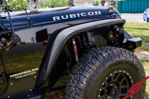 Eibach PRO-TRUCK shocks on Jeep Rubicon