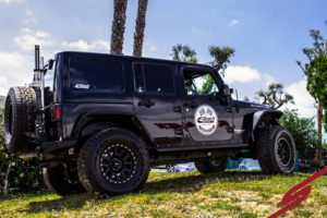 Eibach PRO-TRUCK shocks on STILLEN Jeep