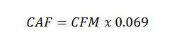 caf-formula