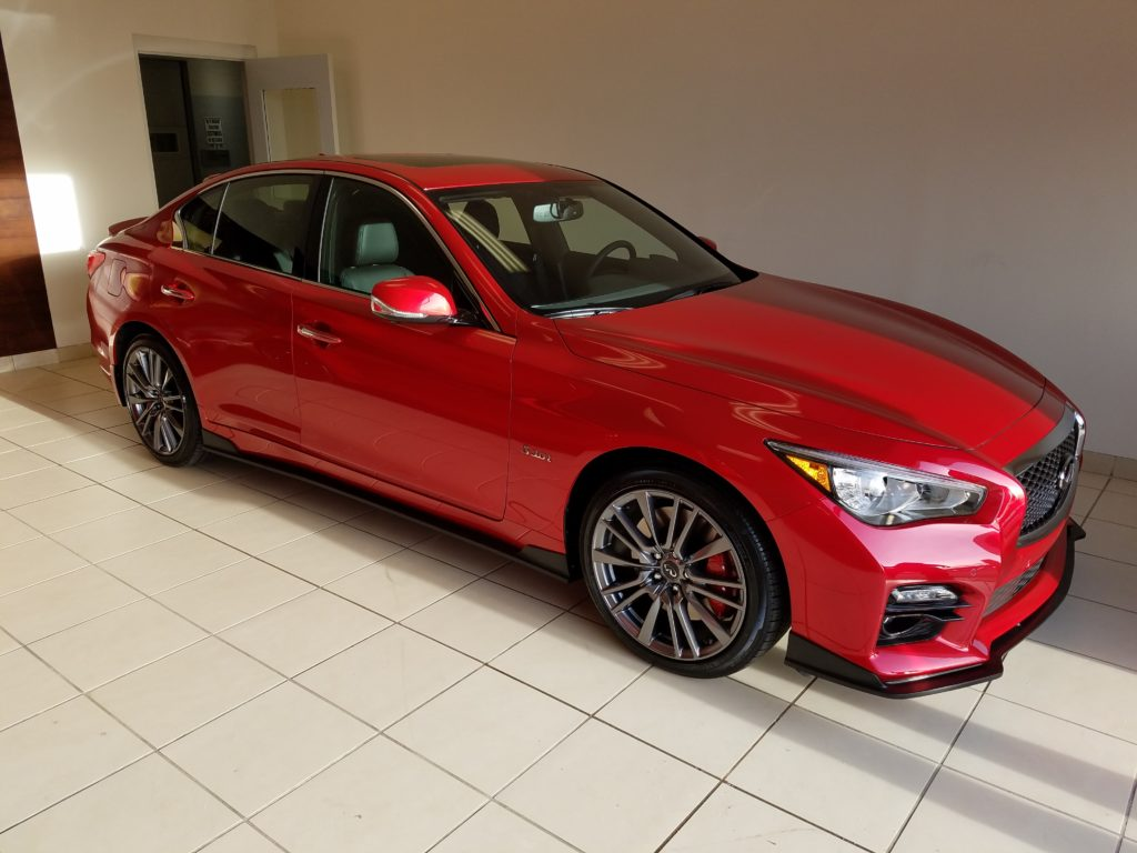 2017 Q50 Red Sport AWD STILLEN