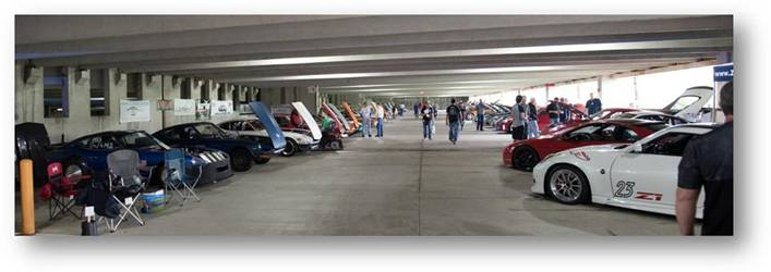 STILLEN Event Tracking: Z Attack 2017 Car Show Garage Shot