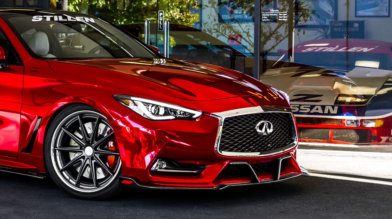 STILLEN INFINITI Q60 REDSPORT 400 SEMA 2017
