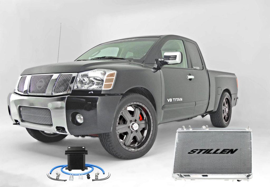 black titan radiator trans cooler