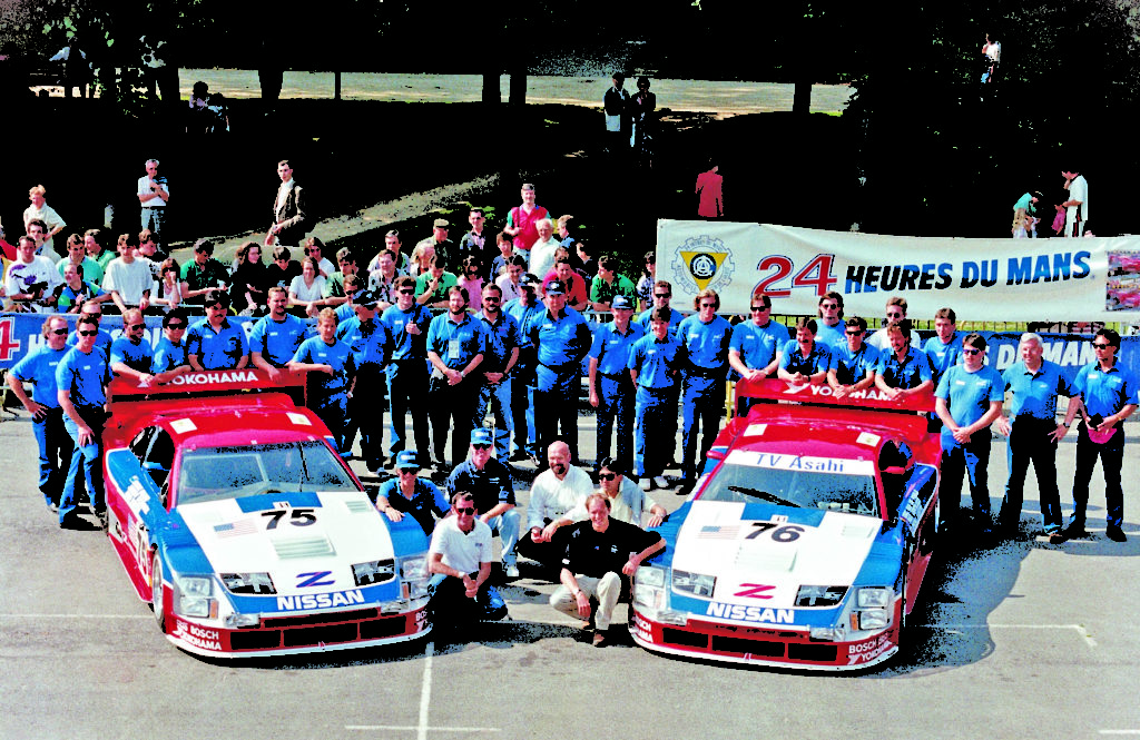 Nissan 300ZX TT 75 Car Steve Millen Racing LeMans 1994 005