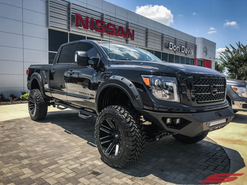 Dealer Spotlight 6in Lift Titan Xd Gets Murdered Out At Don Davis Nissan Stillen Garage