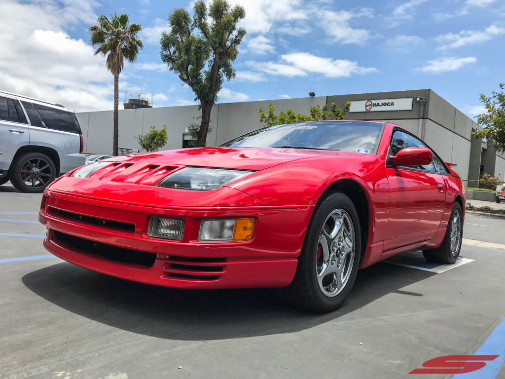 Z32 300ZX ZZRIDER Red at STILLEN (10)