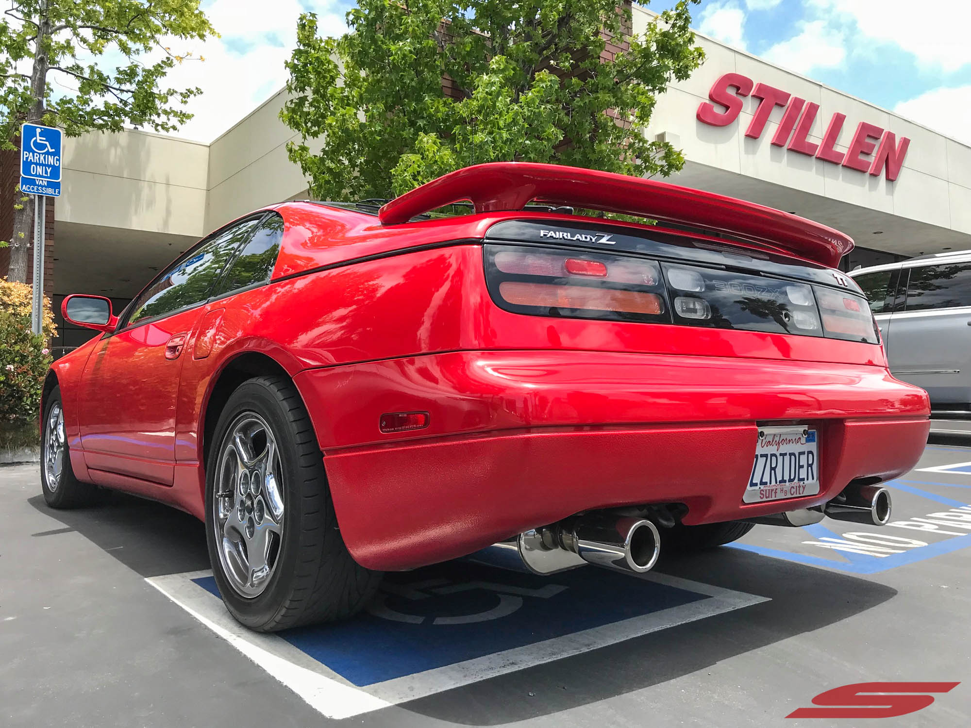 Z32 300ZX ZZRIDER Red at STILLEN (13)