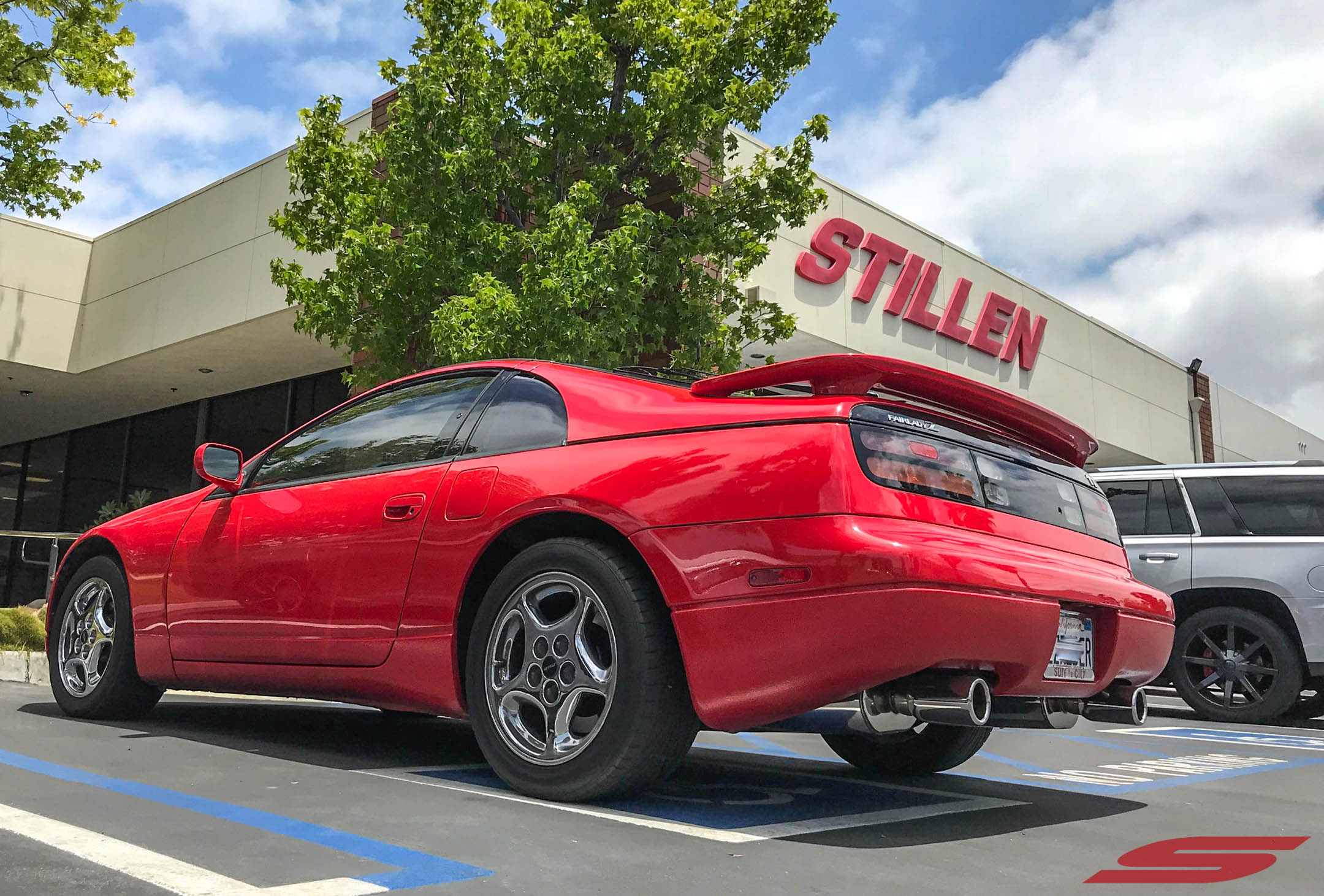 Z32 300ZX ZZRIDER Red at STILLEN (2)