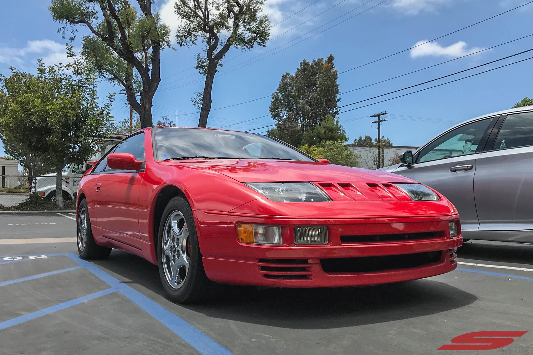 Z32 300ZX ZZRIDER Red at STILLEN (5)