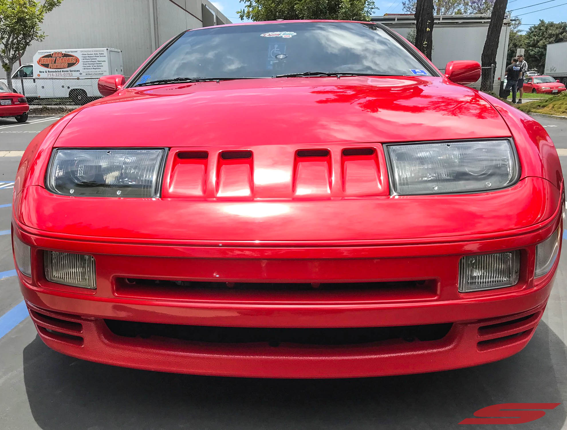 Z32 300ZX ZZRIDER Red at STILLEN (6)