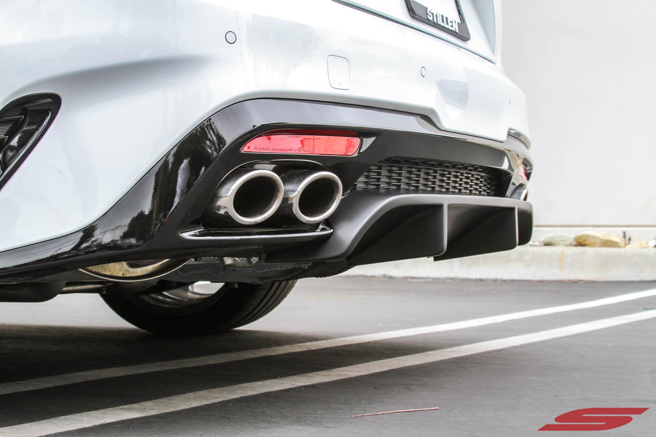 STILLEN 2018 Kia Stinger GT - Rear Diffuser