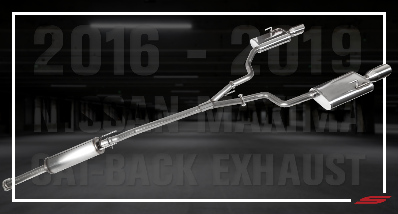 Nissan Maxima Exhaust Cat Back