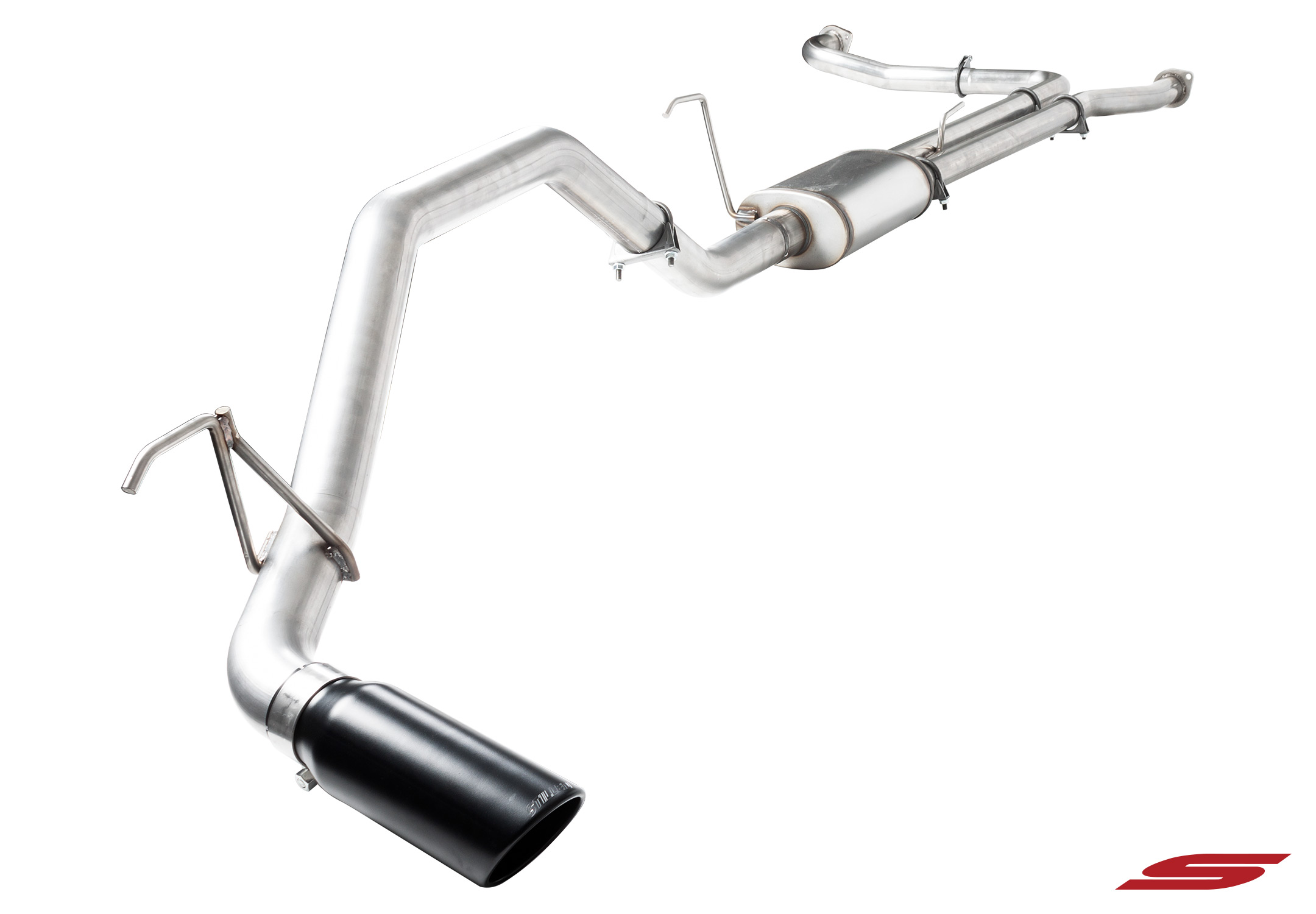 509571 STILLEN Cat Back Exhaust System for the 2016-2018 Nissan Titan