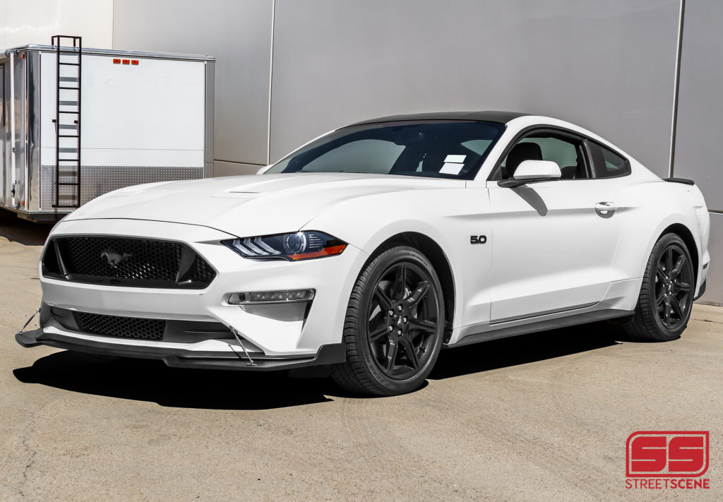 New Product Announcement: 2018-2019 Ford Mustang GT Front Splitter from Street Scene | STILLEN ...