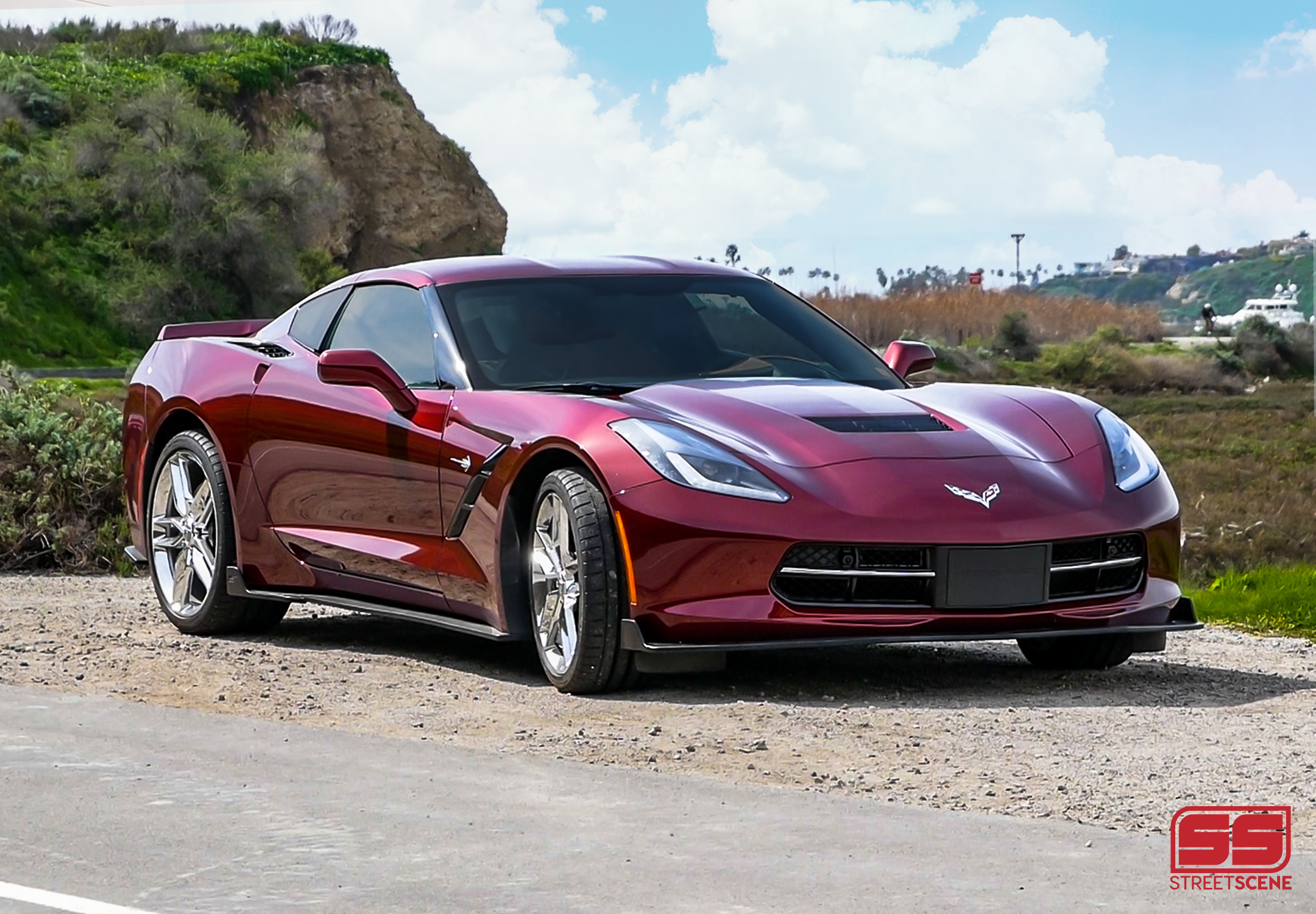 2014-2019 Corvette C7 Stingray, Grand Sport, Z06 & ZR1 Body Styling By Street Scene Equipment