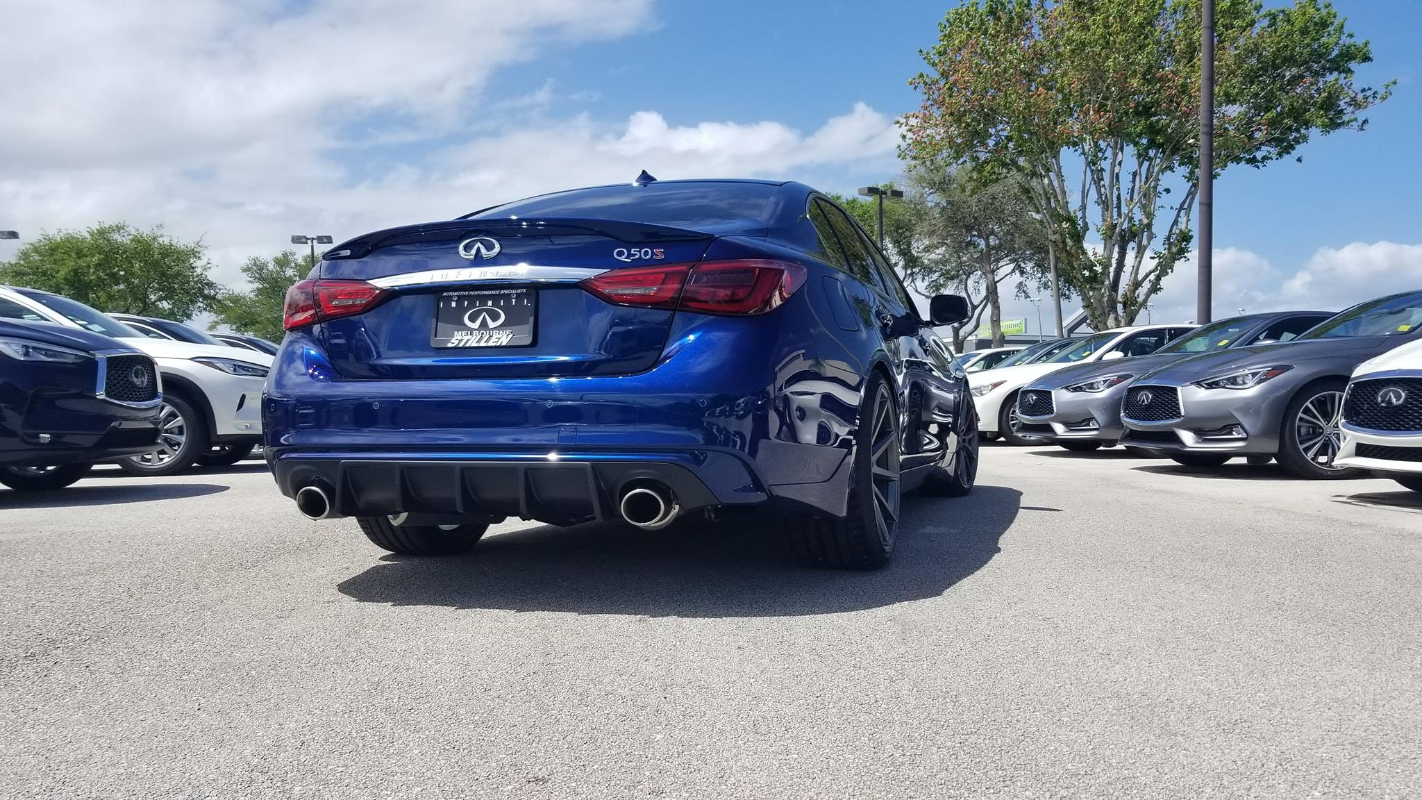 Infiniti of Melbourne 2019 Infiniti Q50 3.0t Red Sport - STILLEN Performance and Body Styling