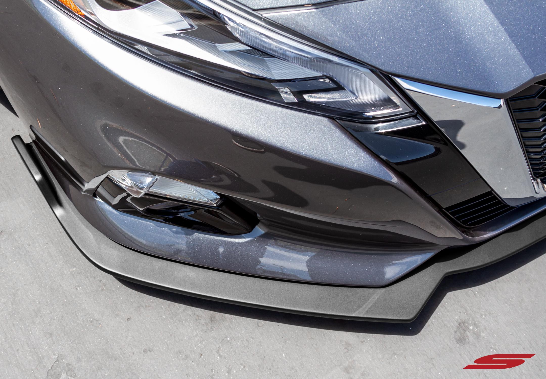 2019+ Nissan Altima STILLEN Front Splitter [Matte Black] - KB13153