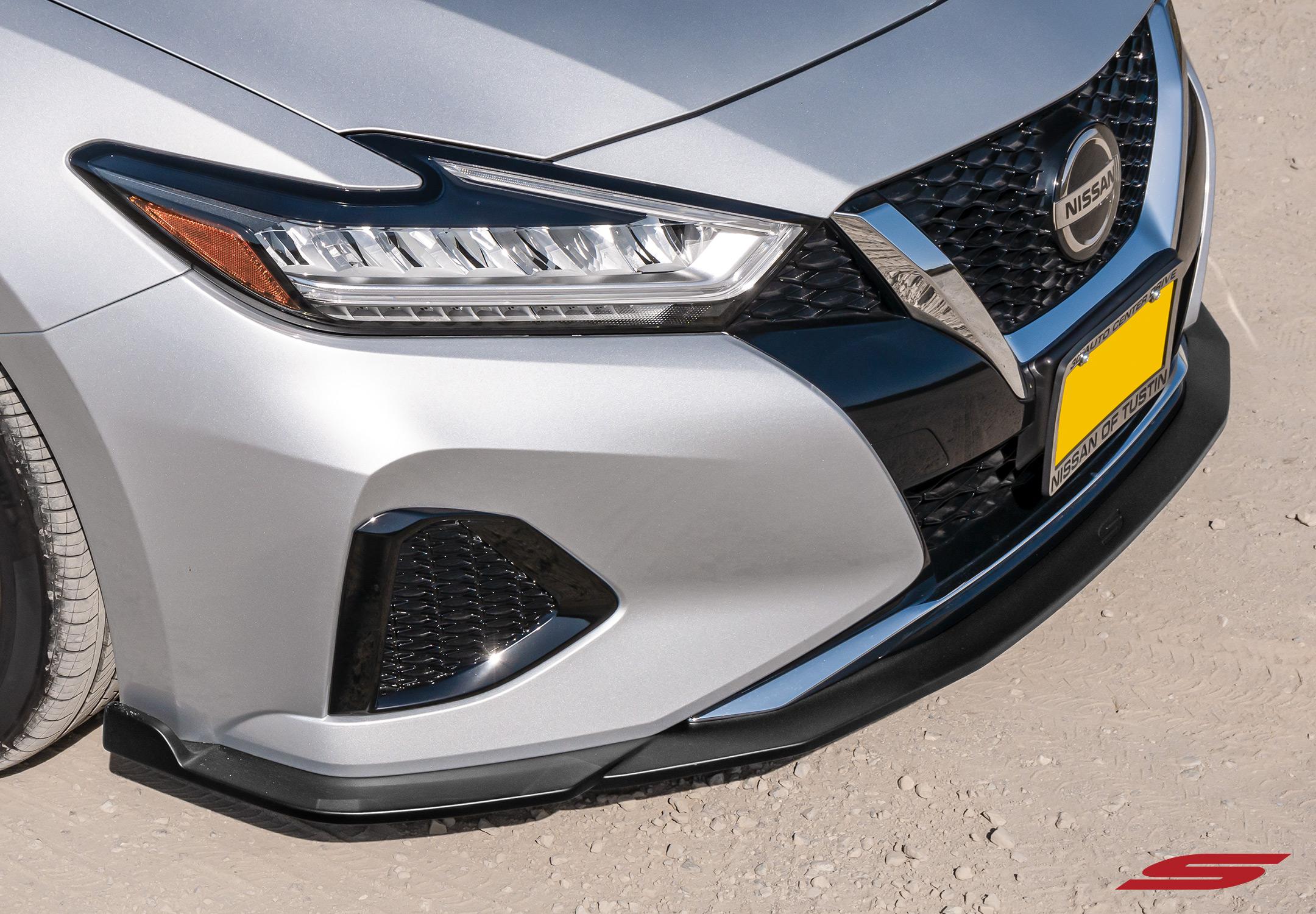 2019 Nissan Maxima STILLEN Front Splitter