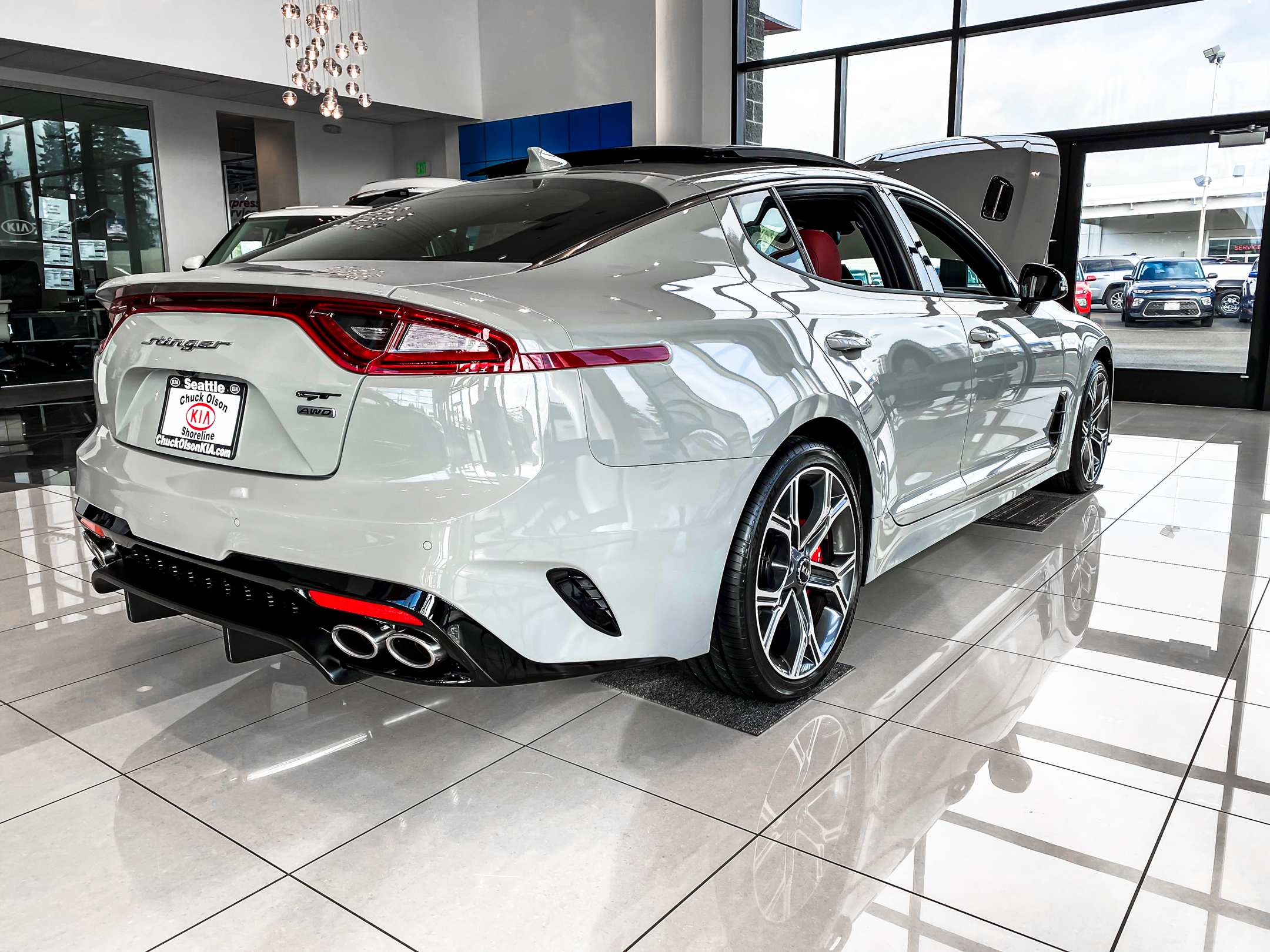 Kia Stinger GT STILLEN Rear Diffuser and Cat Back Exhaust